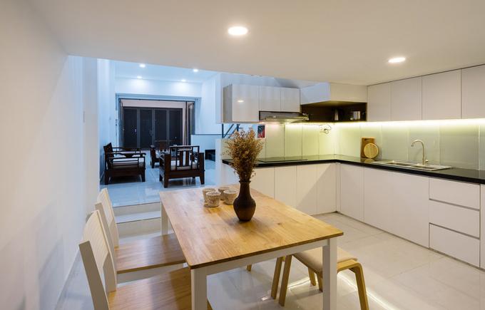 Nhà phố đẹp 40 m2 ở quận Tân Phú Sài Gòn sau cải tạo (6)