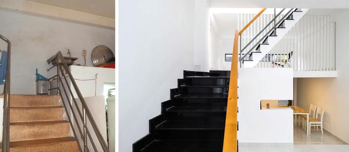 Nhà phố đẹp 40 m2 ở quận Tân Phú Sài Gòn sau cải tạo (7)