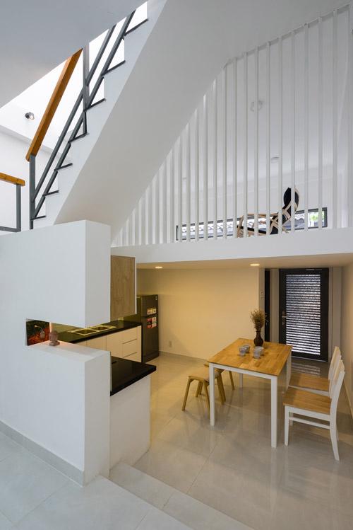Nhà phố đẹp 40 m2 ở quận Tân Phú Sài Gòn sau cải tạo (8)
