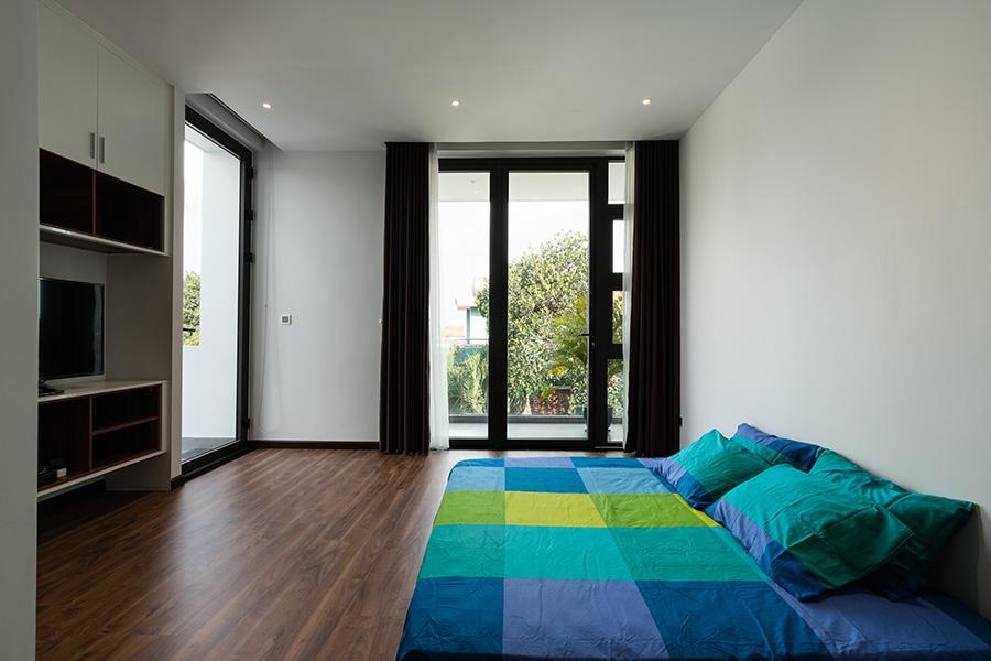 biệt thự phố 2 mặt tiền hình khối ấn tượng 3 view hướng gió_phòng ngủ 1