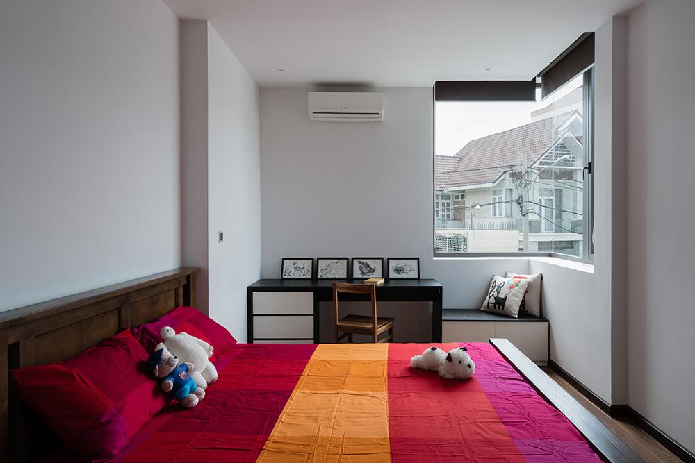 biệt thự phố 2 mặt tiền hình khối ấn tượng 3 view hướng gió_phòng ngủ 4