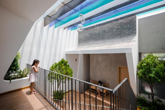 Nhà phố đẹp 160 m2 ở Bình Dương (4)
