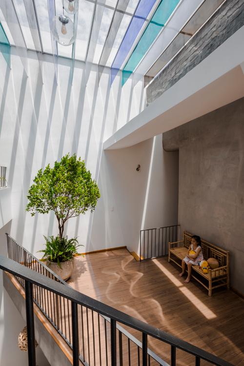Nhà phố đẹp 160 m2 ở Bình Dương (5)