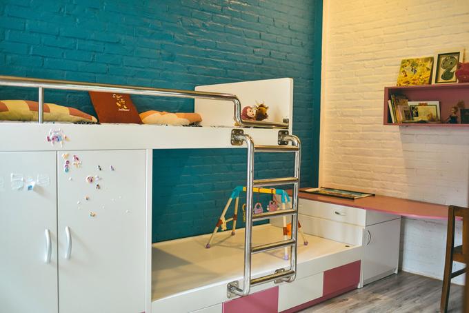 Nhà phố 2 tầng không sơn trát ở Vĩnh Phúc (12)
