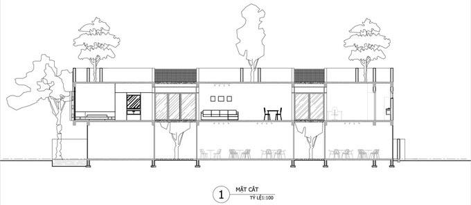 Thiết kế nhà phố 2 tầng kiêm quán cà phê ở Đà Nẵng (18)