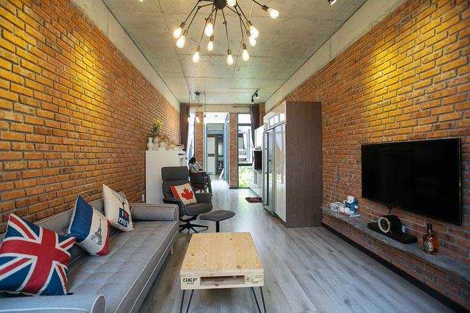 Thiết kế nhà phố 2 tầng kiêm quán cà phê ở Đà Nẵng (7)