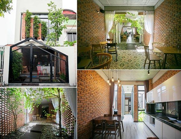 Thiết kế nhà phố 2 tầng kiêm quán cà phê ở Đà Nẵng_nhadepso