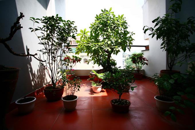 Không gian nhà ống 4 tầng 45 m2 ở Hà Nội (12)