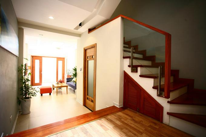 Không gian nhà ống 4 tầng 45 m2 ở Hà Nội (3)