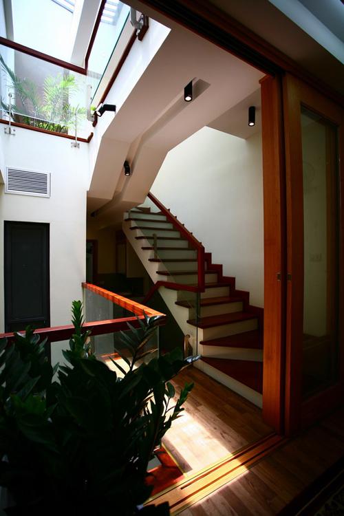 Không gian nhà ống 4 tầng 45 m2 ở Hà Nội (7)