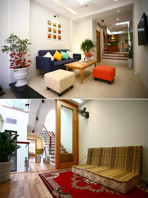 Không gian nhà ống 4 tầng 45 m2 ở Hà Nội_nhadepso