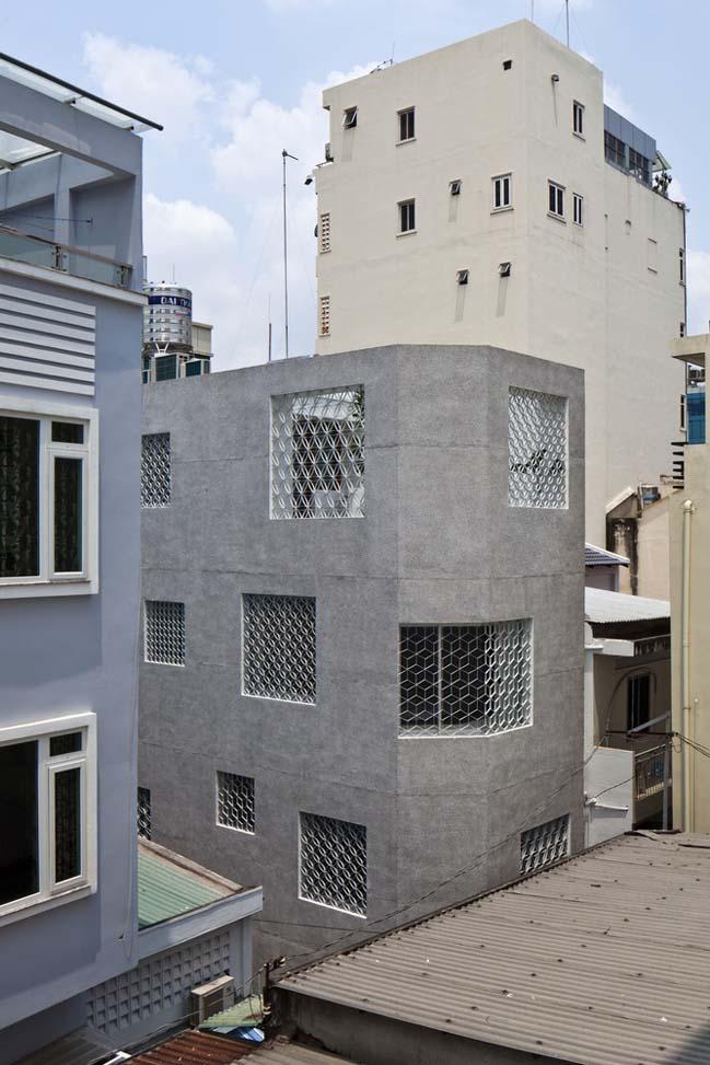 Mẫu nhà ống đẹp 4 tầng Sài Gòn (1)