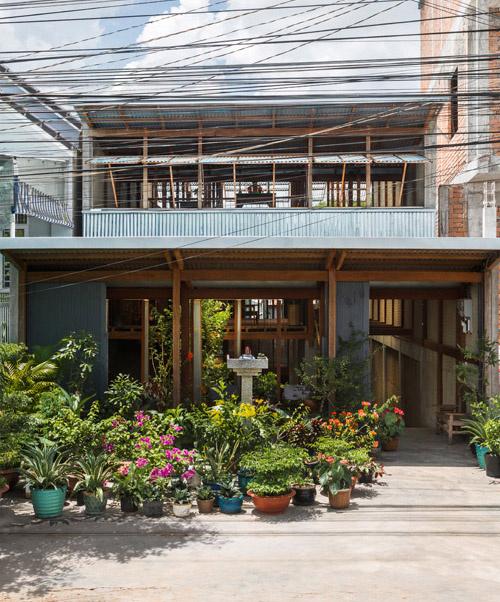 Ngôi nhà đẹp 3 tầng ở An Giang (1)