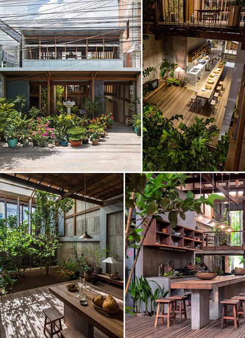 Ngôi nhà đẹp 3 tầng ở An Giang Nhadepso