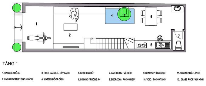 Nhà phố 3 tầng 52 m2 ở Hải Dương (11)