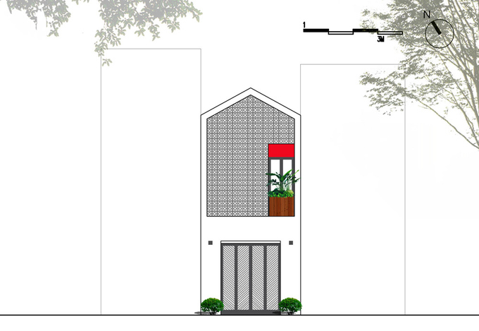 Nhà phố 3 tầng 52 m2 ở Hải Dương (16)