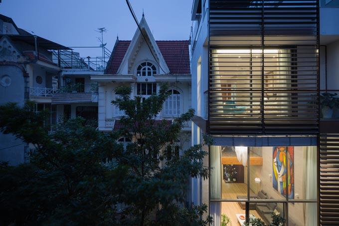 Nhà ống 5 tầng 350 m2 ở quận Hoàn Kiếm Hà Nội (2)