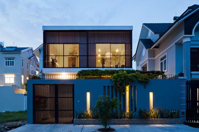 Nhà phố đẹp 2 tầng ở quận 2 Sài Gòn có mặt tiền biến đổi tùy thích (12)