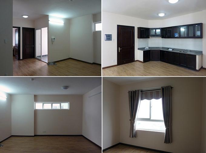 Căn hộ 2 phòng ngủ 75 m2 ở quận 4, Sài Gòn (1)