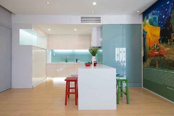 Căn hộ 2 phòng ngủ 75 m2 ở quận 4, Sài Gòn (6)