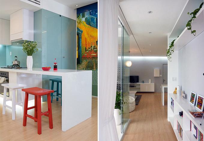 Căn hộ 2 phòng ngủ 75 m2 ở quận 4, Sài Gòn (8)