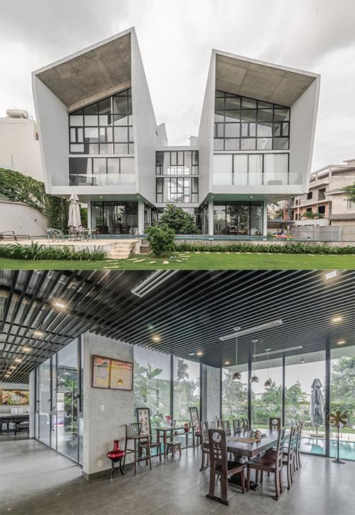 Concerto House – nhà đẹp Sài Gòn