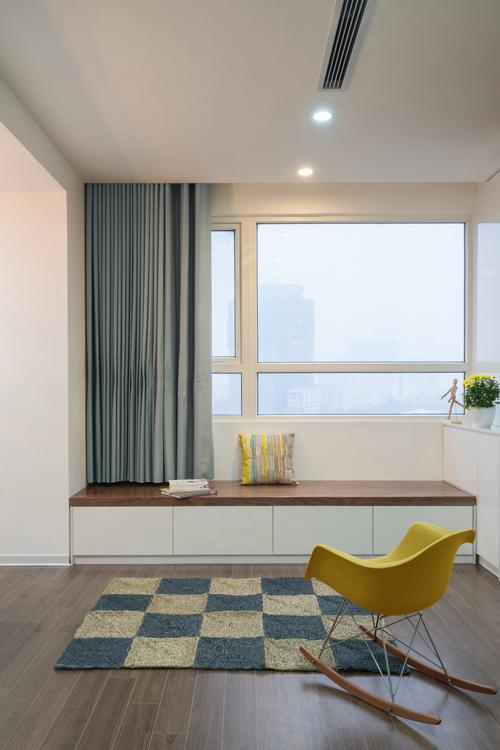 Không gian căn hộ 120 m2 quận Cầu Giấy Hà Nội (2)