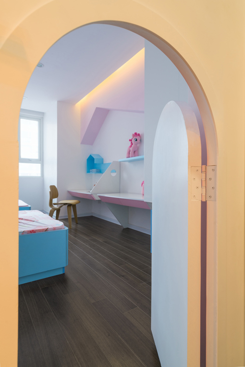 Không gian căn hộ 120 m2 quận Cầu Giấy Hà Nội (5)
