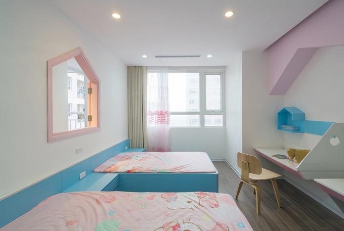Không gian căn hộ 120 m2 quận Cầu Giấy Hà Nội (6)