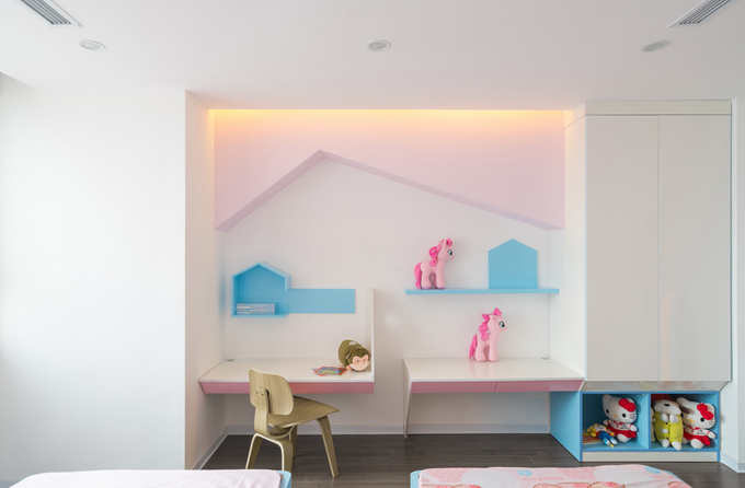 Không gian căn hộ 120 m2 quận Cầu Giấy Hà Nội (8)