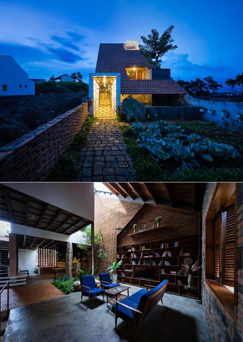 Công trình nhà đẹp 120 m2 ở Di Linh, Lâm Đồng
