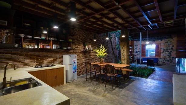 Công trình nhà đẹp 120 m2 ở Di Linh, Lâm Đồng (6)