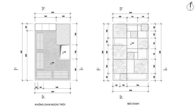 Nhà phố 2 tầng bằng thép tôn ở Hà Nội (19)