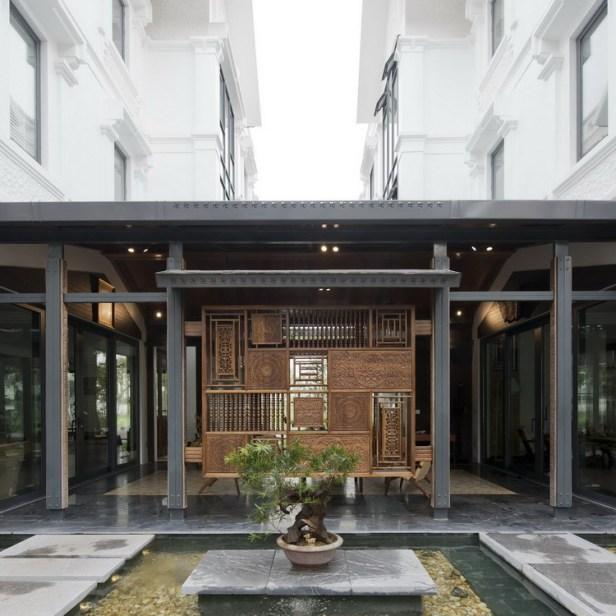 Nhà đẹp sinh đôi ở Nam Thăng Long Hà Nội (3)
