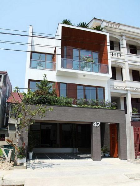 Nhà phố 3 tầng đẹp diện tích 7.5 m và 18 m ở Hà Tĩnh (1)