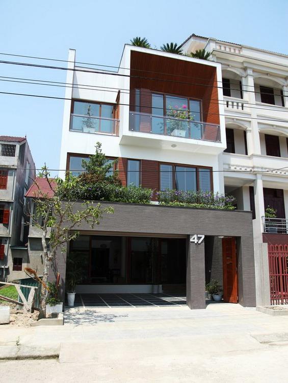 Nhà phố 3 tầng đẹp diện tích 7.5 m và 18 m ở Hà Tĩnh (3)
