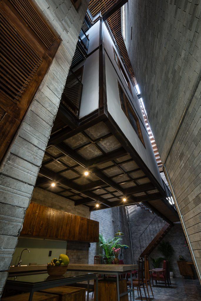 Thiết kế nhà phố Zen House ở quận Bình Thạnh, Sài Gòn (11)