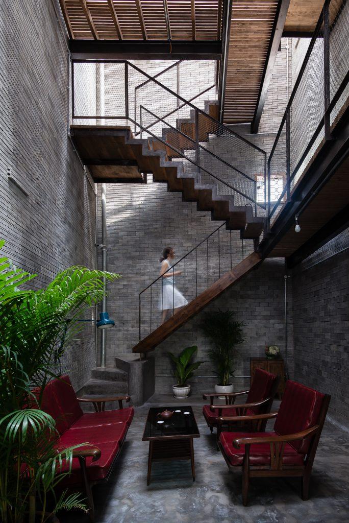 Thiết kế nhà phố Zen House ở quận Bình Thạnh, Sài Gòn (7)