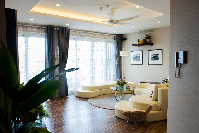 Nội thất căn hộ 3 phòng ngủ 120 m2 ở Cầu Giấy Hà Nội (1)