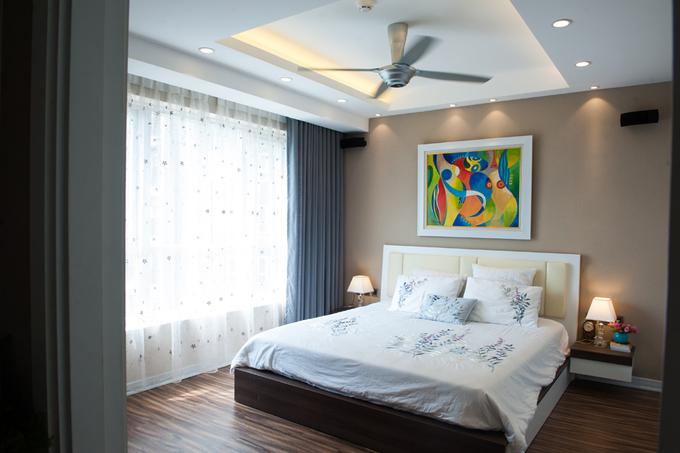 Nội thất căn hộ 3 phòng ngủ 120 m2 ở Cầu Giấy Hà Nội (10)