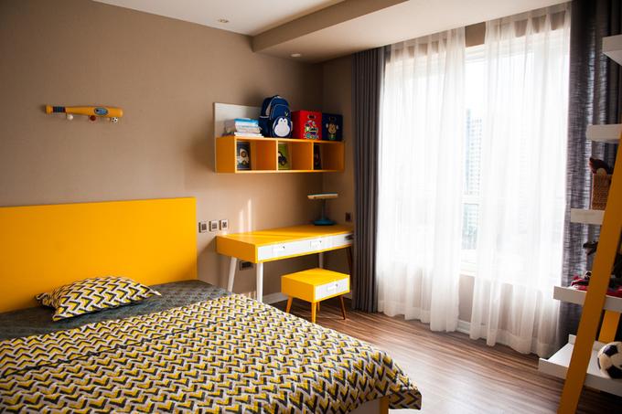 Nội thất căn hộ 3 phòng ngủ 120 m2 ở Cầu Giấy Hà Nội (11)