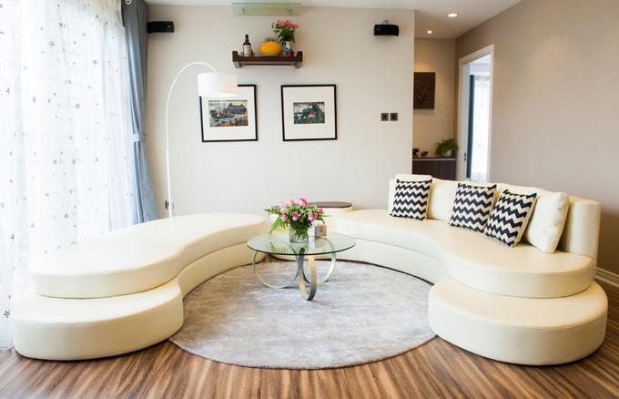 Nội thất căn hộ 3 phòng ngủ 120 m2 ở Cầu Giấy Hà Nội (2)