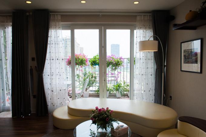 Nội thất căn hộ 3 phòng ngủ 120 m2 ở Cầu Giấy Hà Nội (3)