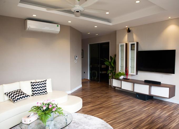 Nội thất căn hộ 3 phòng ngủ 120 m2 ở Cầu Giấy Hà Nội (6)