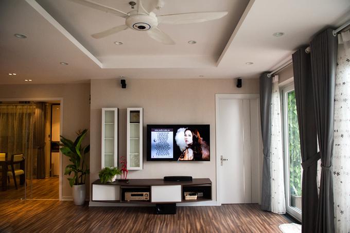 Nội thất căn hộ 3 phòng ngủ 120 m2 ở Cầu Giấy Hà Nội (7)
