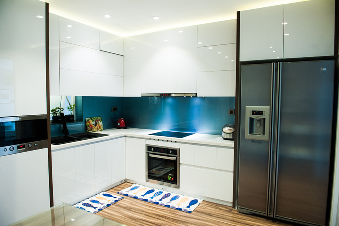 Apartment with 3 bedrooms, 120 m2 in Cau Giay Hanoi (8)
