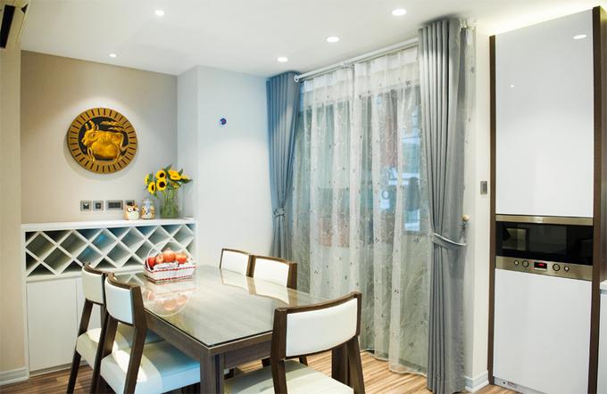 Nội thất căn hộ 3 phòng ngủ 120 m2 ở Cầu Giấy Hà Nội (9)