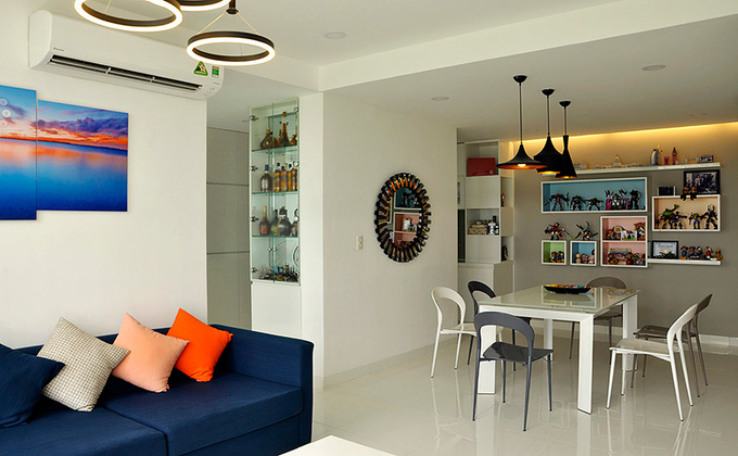 Three bedroom apartment in Saigon (2)