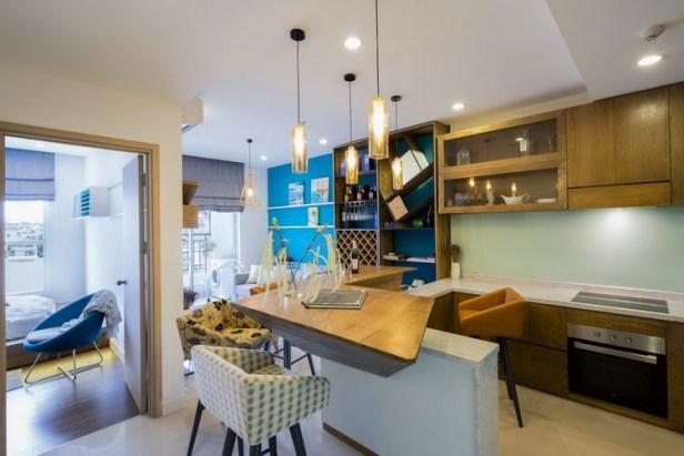 Thiết kế nội thất căn hộ 46 m2 ở quận Phú Nhuận, TP. HCM (1)