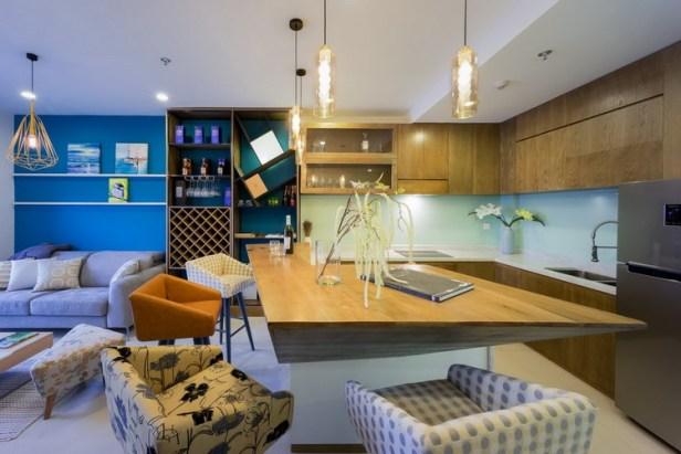 Thiết kế nội thất căn hộ 46 m2 ở quận Phú Nhuận, TP. HCM (2)